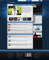 TV.com Community GUI-Homepage by princepal