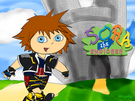Sora the Explorer by Waqadia
