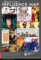 Bella's Influence Map by uglyduckbella