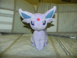My Pokemon Plushie collection - Espeon by Megalomaniacaly