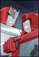 Ratchet, Ironhide 2 by LONEOLD
