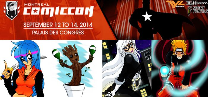 Montreal Comic Con 2014 by the-kid36