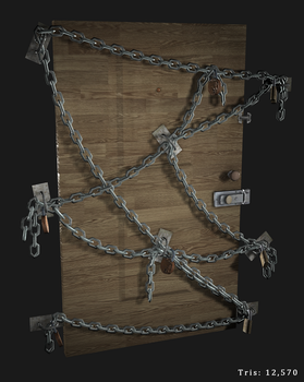 Chain Door by JustinMs66