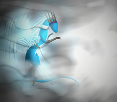 Wings Of A Fading Paradise by cynderplayer