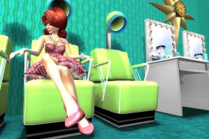 Fifties Flip Flair Hairstyle by DovSherman