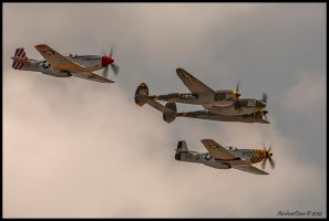 The Horsemen 2012 by AirshowDave