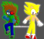 ChalsianBSI And Super Sonic by TheRealStickBlue