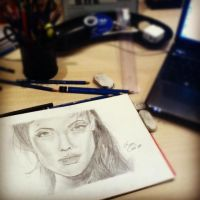 Angelina Jolie by lucasnetto