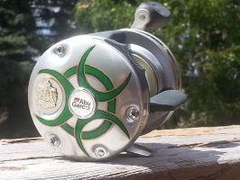 custom pinstriping reel by kkrex