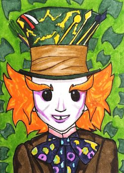 The Mad Hatter by whatonearth
