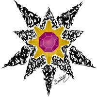 Starmie Tribal by BernBitt