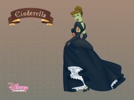 Cinderella as a Zombie by DisneyWiz