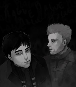 The two of us by MY-B0Y