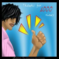 Thank you for 1k by HiddenIce