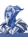 Tzufit the draenie by Drunkfu