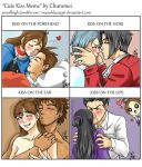 Cute Kiss Meme ft my AceAttorney ships by EnzanBlues456