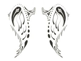 Wing Tattoo by BenjiB