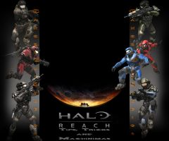 Youtube Background: Halo Reach by MTS3