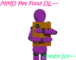 MMD Pet Food DL by IcyBreeze8