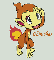 Chimchar by Roky320