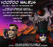 Voodoo Walrus: Year of the Badger by GrymmBadger