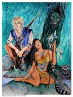 Pocahontas - into Wildness by Hollow-Moon-Art