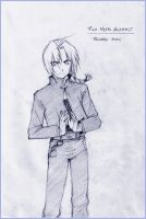 Edward Elric by Chiisa