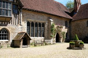 Ightham Mote 12 by OghamMoon