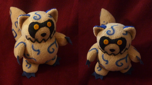 Commission: Shukaku plush by goiku