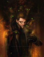 p 42 Adam Jensen by BlackAssassiN999