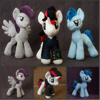 Plush mane3 of Fallout Equestria Project Horizons by Valmiiki