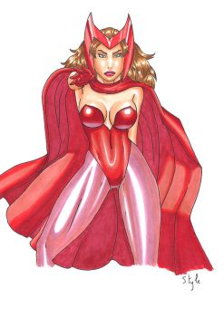 Scarlet witch by The-Masterstyle