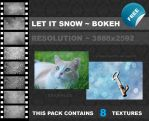 Let it snow bokeh texture pack by xChristina27x