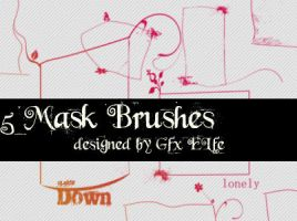 Mask Brushes 2 by gfx-elfe