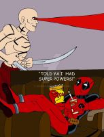 Deadpool Super Powers by xero87
