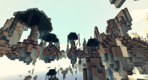 Minecraft - Paysages davec Wedge - II by AleksCube