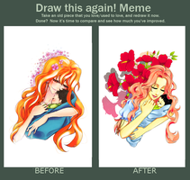 Mother - before and after meme by fantasy-feather