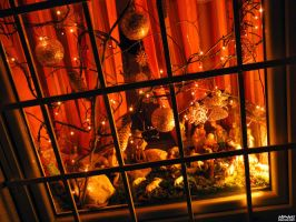 Christmas behind bars by Alpner