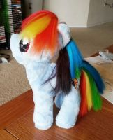 Mostly-finished Rainbow Dash by PixelNoob