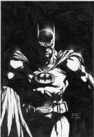 Batman cover Finch Williams by INKIST