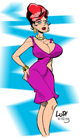 Warm Up Femme Fatale by LudHughes