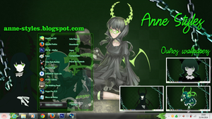 Theme Dead Master Win 7 by AnneChan34