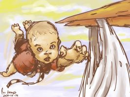 35 flying babie by foice