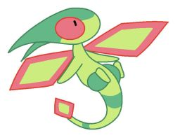 Flygon best chibi by Crystalitar
