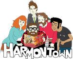 Harmontown Vecor by stimpyrules