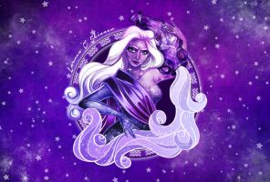Amethyst Aquarius by laurencskinner
