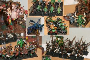 Beastmen Warhammer Collection by MoritzNina