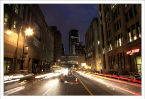 Montreal at Night 55 by Pathethic