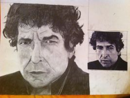 bob dylan by advalifshitz