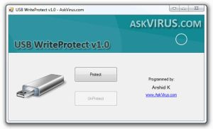 USB WriteProtect v1.0 by Arshid-k